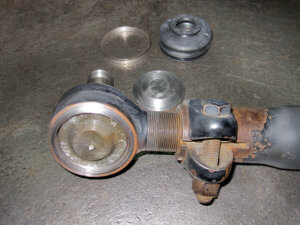 Ремонт рулевой тяги МАН 14