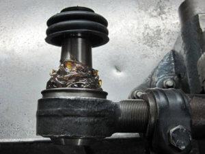 Ремонт рулевой тяги МАН 17