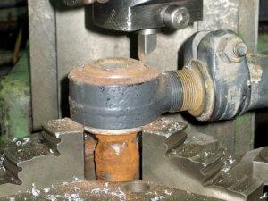 Ремонт рулевой тяги МАН 6
